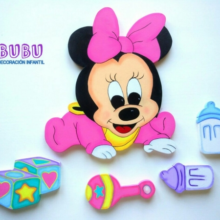Minnie bebe pared