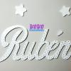 letras en madera para pared