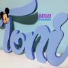 Nombre en madera Mickey