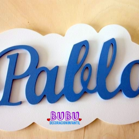 placa para decorar pared
